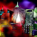 Cityscape 3 by Valentina Kross