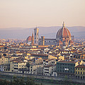 Cityscape, Florence, Italy by Michael S. Lewis