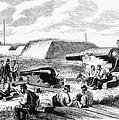 Civil War Battery Scene by Granger