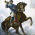 Civil War: Bugler, 1863 by Granger