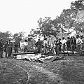 Civil War Burial, 1864 by Granger