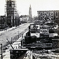 Civil War Damaged Charleston South Carolina - Meeting Street - C 1865 by International  Images
