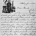 Civil War: Letter, 1862 by Granger