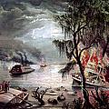 Civil War: Naval Battle by Granger