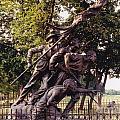 Civil War Soldiers Monument by Barbara Plattenburg