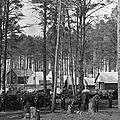 Civil War: Union Camp, 1864 by Granger
