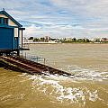 Clacton Lifeboat House by Dawn OConnor