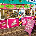 Clacton Pier Shop by Dawn OConnor