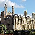 Clare College Cambridge by Tony Murtagh