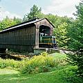 Clarks Covered Bridge by Wayne Toutaint