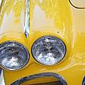 Classic Antique Chevy Corvette - Detail by Dora Sofia Caputo Photographic Design and Fine Art