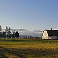 Classic Barn In The Country by Mick Anderson