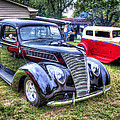 Classic Black Ford by John Derby