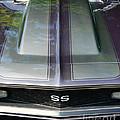 Classic Camaro Ss Hood Cowl by Paul Ward
