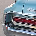 Classic Car Aqua Holiday by Anita Burgermeister