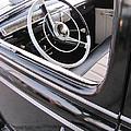 Classic Car Black Interior by Anita Burgermeister