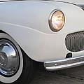 Classic Car White 3 by Anita Burgermeister