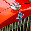 Classic Chevrolet Hood And Grill by Randy Harris