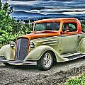 Classic Ford Hdr by Randy Harris