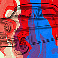 Classic Mercury Abstract by David G Paul