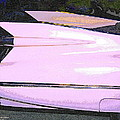 Classic Tails - Pink 1959 Cadillac by Randall Thomas Stone