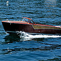 Classic Wooden Boat by LeeAnn McLaneGoetz McLaneGoetzStudioLLCcom