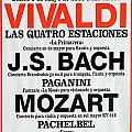 Classical Concert Poster by Michael Flood