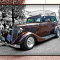 Classy Brown Ford by Randy Harris