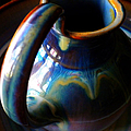Clay Pitcher by Kristen Cavanaugh
