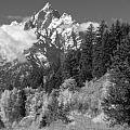 Clearing Storm On Grand Teton  by Sandra Bronstein