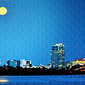 Clearwater At Night by Bill Cannon