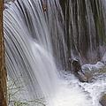 Cliff Falls In Maple Ridge by Randy Harris