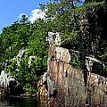 Cliffs On The St Croix by Tam Graff