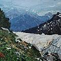 Climbing Mount Rainier by Leah  Tomaino