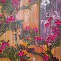 Climbing Rose Vine by Cheryl Stallings