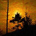 Clingmans Dome Sun Spot by Paul Bartoszek