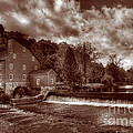 Clinton Red Mill House Sepia by Lee Dos Santos