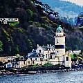 Cloch Lighthouse Gourock Scotland by Carrie OBrien Sibley