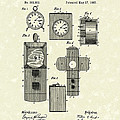 Clock Cover 1887 Patent Art by Prior Art Design