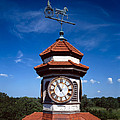 Clock Tower And Weathervane, Longview by Everett
