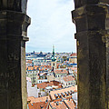 Clock Tower View - Prague by Jon Berghoff