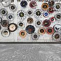 Clocks On The Wall by Setsiri Silapasuwanchai
