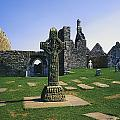 Clonmacnoise, Co Offaly, Ireland, West by The Irish Image Collection