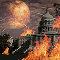 Close Approach Of Nibiru, Planet X by Ron Miller