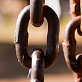Close Up Of A Chain Link by Ashish Agarwal