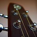 Close-up Of Guitar by Image by Maistora (Vladimir Dimitroff)
