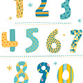 Close-up Of Numbers by Eastnine Inc.