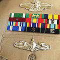 Close-up View Of Military Decorations by Stocktrek Images
