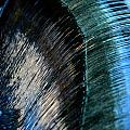 Close View Of A Sheet Of Water Pouring by Raymond Gehman