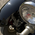 Close View Of The Headlight by Todd Gipstein